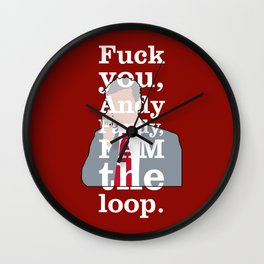 The Thick of It - Malcolm Tucker Wall Clock