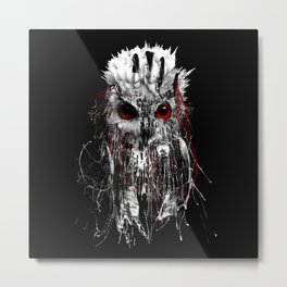 OWL - RED EYE Metal Print