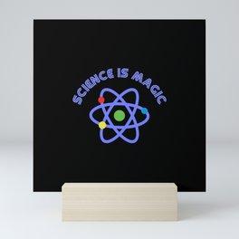 Science is magic Mini Art Print