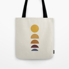 Minimal Sunrise / Sunset Tote Bag