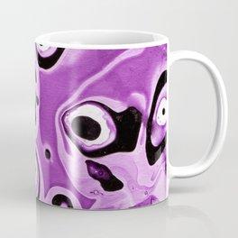 Abstract #11: Purple Circles Coffee Mug