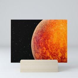 Distant planet Mini Art Print