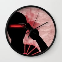 cyclops Wall Clocks featuring Cyclops by Sprite