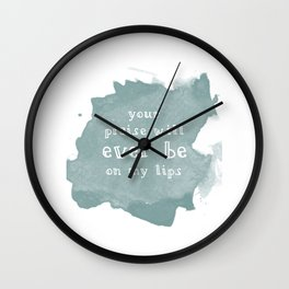 Ever Be Wall Clock