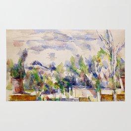 1902 - Paul Cezanne - Mont Sainte-Victoire Rug