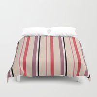 stripe Duvet Covers featuring Stripe by Tayler Willcox