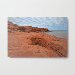 PEI North Cape Metal Print