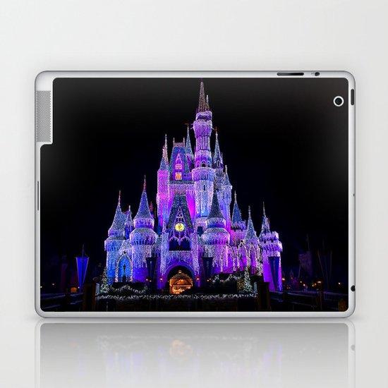 Walt Disney World Christmas Lights Laptop & iPad Skin