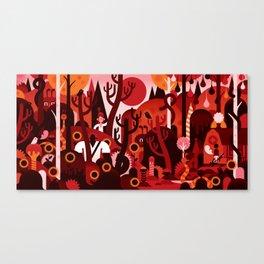 RIVER RAG Canvas Print