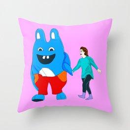 I Love You, Bingo Bronson! Throw Pillow