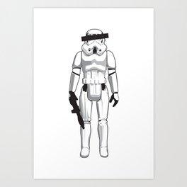 Anonymous Disposables #1 Art Print