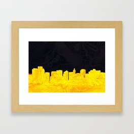 Ye Olde/New Boston Framed Art Print