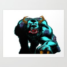 Sully.... Art Print