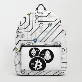 BTC, ETH, EOS Backpack
