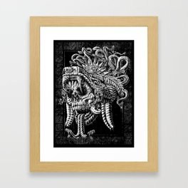 Serpent Warrior Framed Art Print