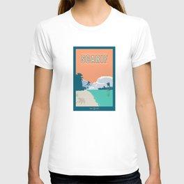Scarif Travel Poster T-shirt