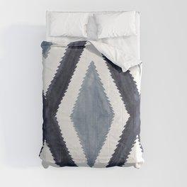 Del Rio Watercolor in Blue Comforters