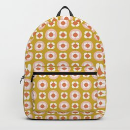 Little Buds Geometric Floral Backpack