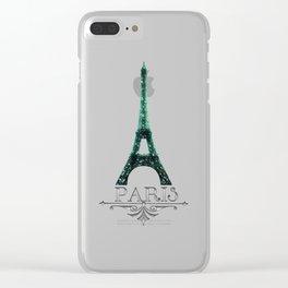 Paris... Je t'aime Clear iPhone Case