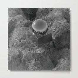 Reflecta B/W Metal Print