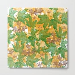 Leaves FG Metal Print