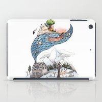 camus iPad Cases featuring Invincible Summer by Brooke Weeber