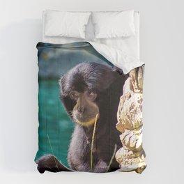 Sweet Howler Monkey Comforters