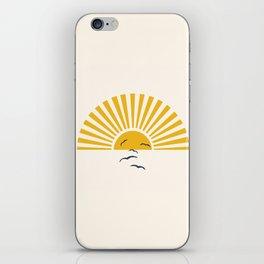 Minimalistic Summer I iPhone Skin