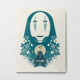 Spirited Metal Print
