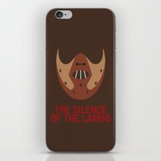 THE SILENCE OF THE LAMBS iPhone & iPod Skin