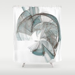 Original Abstract Duvet Covers by Mackin Shower Curtain