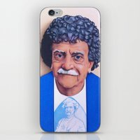 vonnegut iPhone & iPod Skins featuring Kurt Vonnegut by Tim Frame