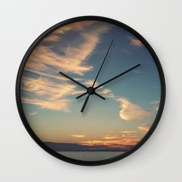 Sundrenched Skies Wall Clock
