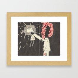 Death of selF Framed Art Print