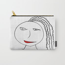 Girl with plait Carry-All Pouch