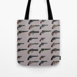 old handgun Tote Bag
