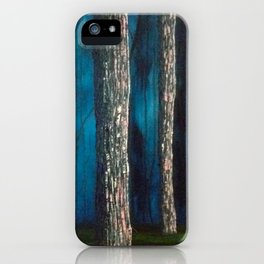 Inside the dark forest iPhone Case