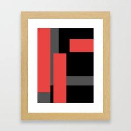 Wait And Look Framed Art Print