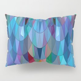 The Many Colors of the Mermaid.... Pillow Sham