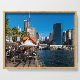 Sydney Circular Quay Serving Tray