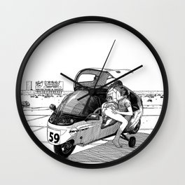asc 544 - La défaite par forfait (He never made it to Vegas) Wall Clock