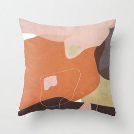 Modern minimal forms 25 Throw Pillow