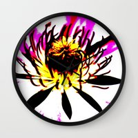 montana Wall Clocks featuring Montana  by Time After Time
