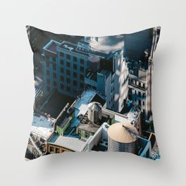New York sky view Throw Pillow