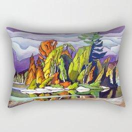 AJ's Little Island by Amanda Martinson Rectangular Pillow