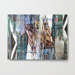 At various incarnations near your others. Metal Print