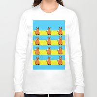 mr fox Long Sleeve T-shirts featuring Mr Fox by RoyaleWithCheese