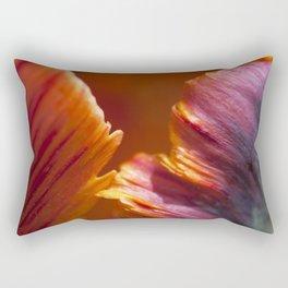 Parrot Tulip Petal Rectangular Pillow