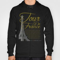 Tour De France Eiffel Tower Hoody