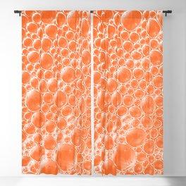 Champagne Bubbles Collection: #6 – Tangerine-Orange Blackout Curtain